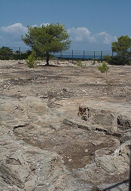 Castellum Romanum, looking due north - Formentera, September 2000