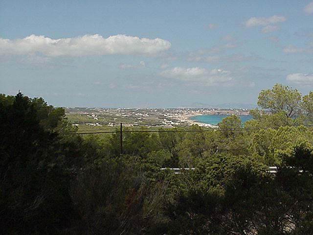Panoramic view to the west - Formentera, September 2000