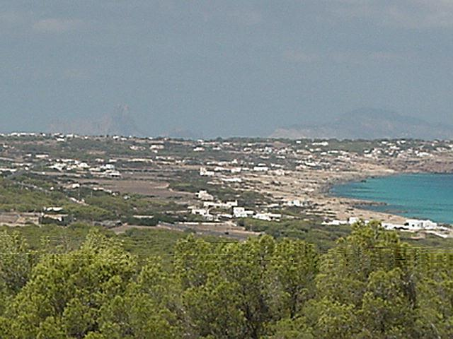 View on Dragonera - Formentera, September 2000